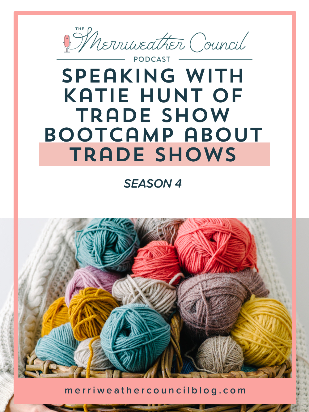 Speaking with Katie Hunt of Trade Show Bootcamp about trade shows. | The Merriweather Council Blog
