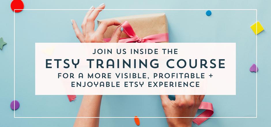 Etsy Training Course