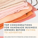 Episode 093: Top Considerations for Paying to Advertise Your Handmade Business