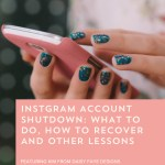 Episode 102: What to Do When Your Instagram Account Is Shut Down