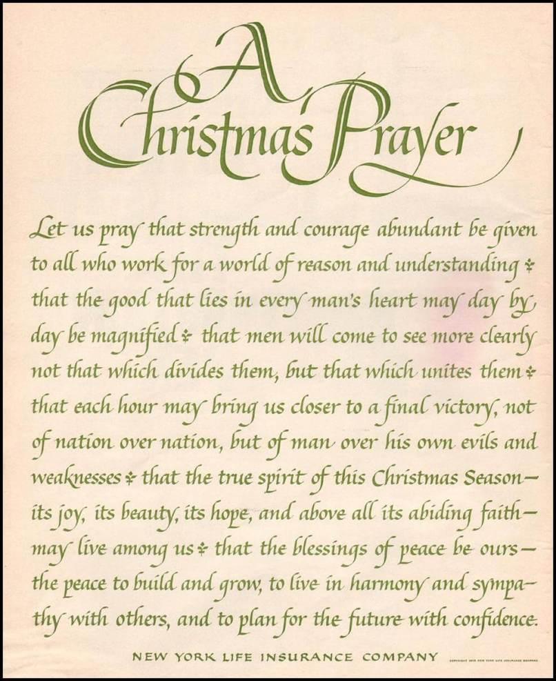 short christmas prayers for family kids blessing - Christmas Blessing Prayer