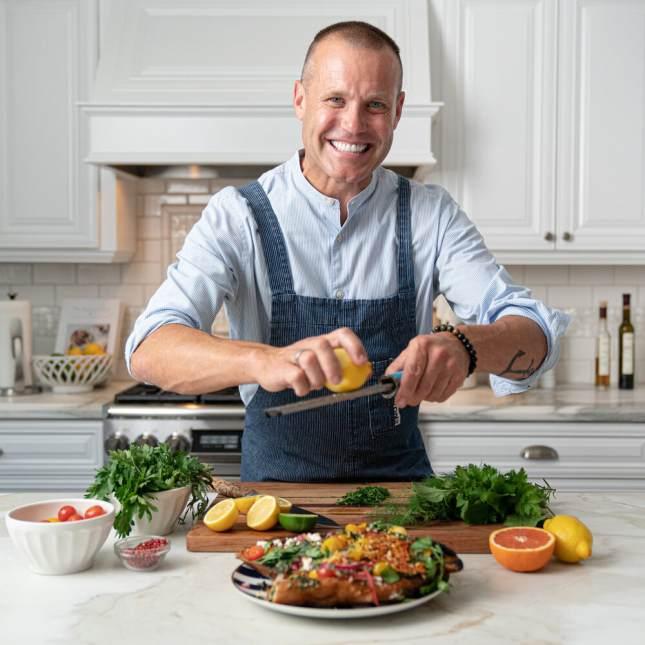 Chef Brian Malarkey-Cooking with Chef Brian Malarkey - MERRYMINT