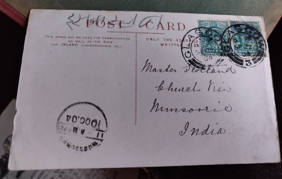 Mussoorie postcard
