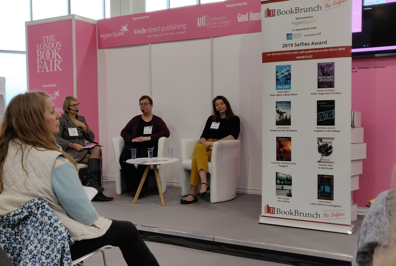 Self-publishing panel London Book Fair