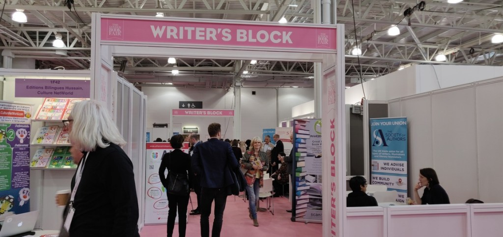 Writers Block London Book Fair