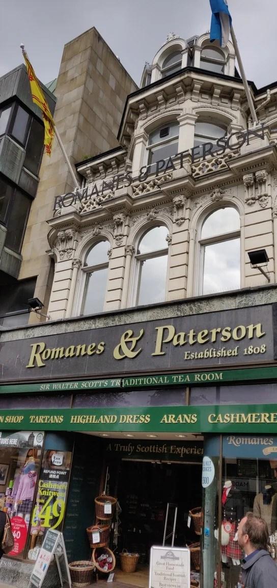 Romanes & Paterson tearoom, Edinburgh