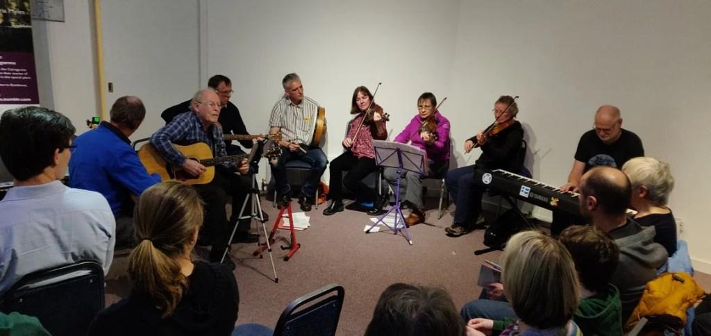 Scottish folk musicians