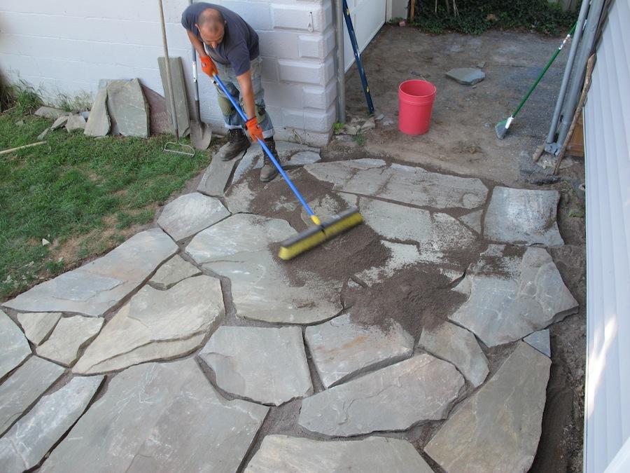 The 12-hour DIY Flagstone Patio | merrypad