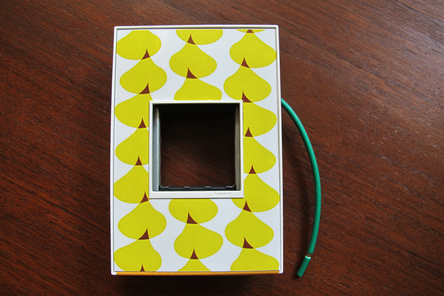 Adorne-ing The Nursery With A Custom Switch Plate