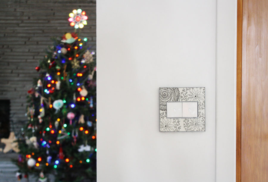 Holiday Switch With Legrand Adorne