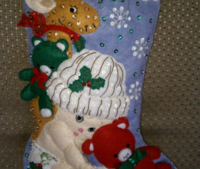 Bucilla Babys First Christmas Stocking Kit This