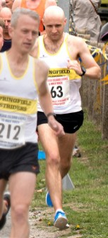 Alex Manton (No.63) - Overall Winner 5 Mile Race (00:28:43)