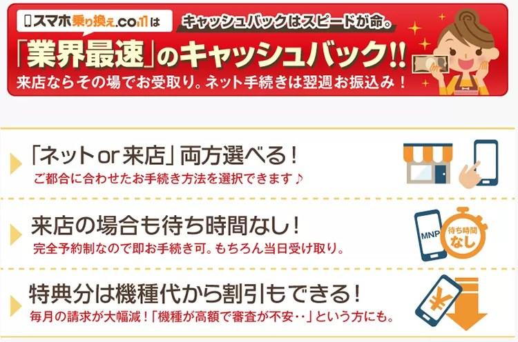 スマホ乗り換え.comトップ画面