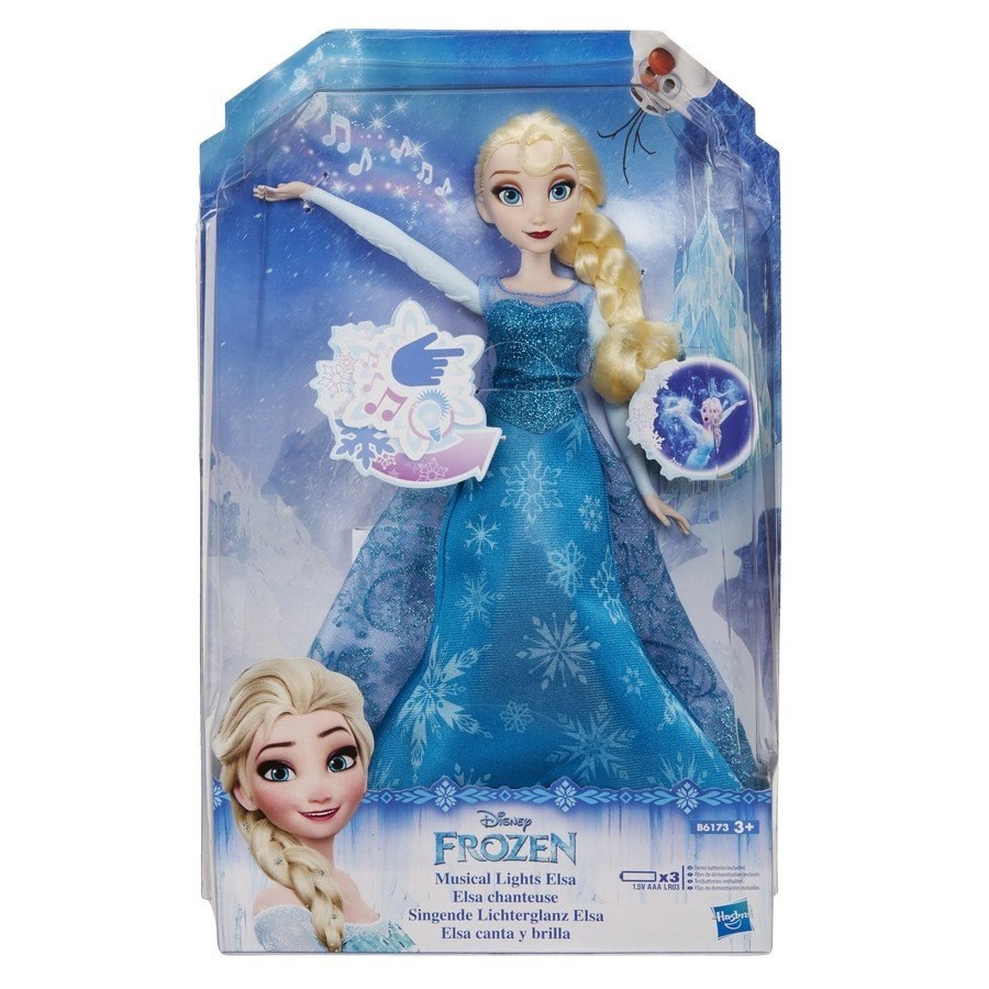 Singing Elsa Doll from Disney's Frozen - Switch Adapted