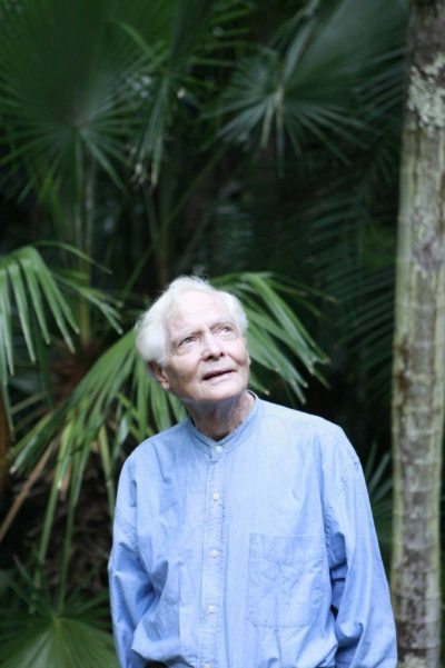 W.S. Merwin Looking Up in the Garden - Cook Jenshel Photography