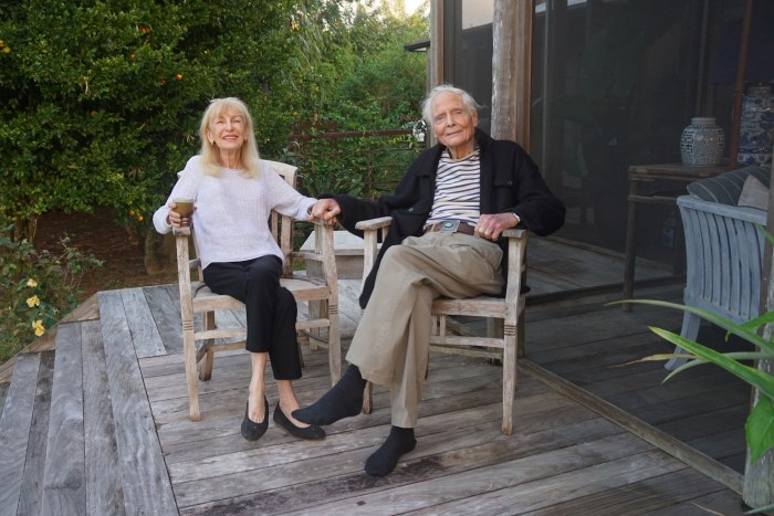 Paula and William Merwin by Tom Sewell web