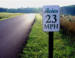 Relax Speed Limit