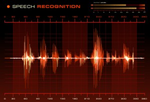 Speech-Recognition-Red-Waveform