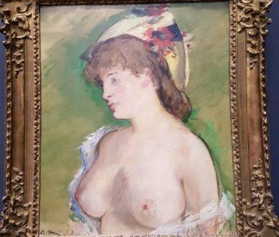 La rubia de Manet