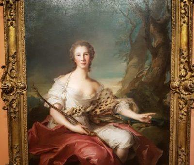 Madame Bouret como Diana