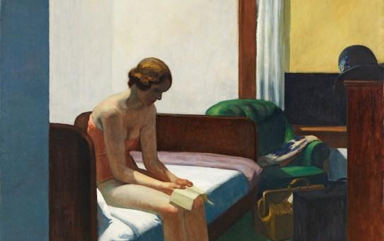 Jo Nivinson, la mujer en habitación de hotel