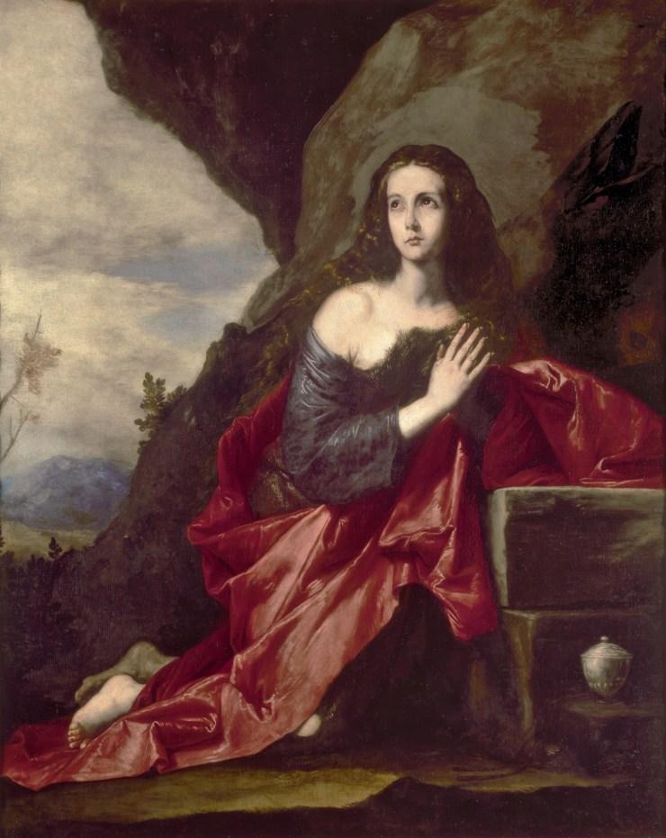 Magdalena penitente por José Ribea