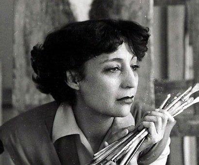Delhy Tejero, pintora Sinsombrero