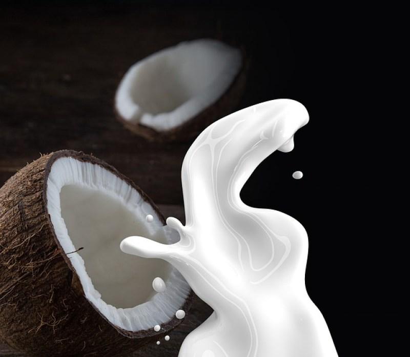Gommage banane, avoine, lait de coco