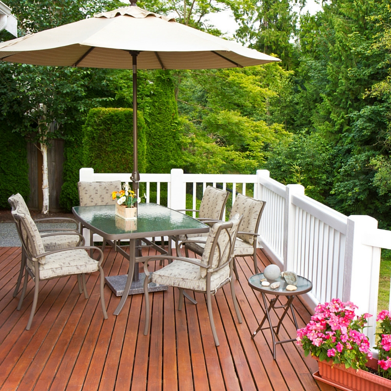 five low budget patio designs on a