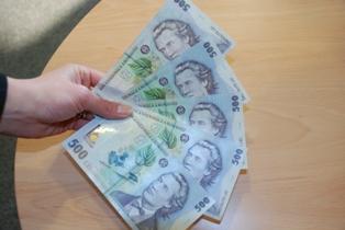 Reţeaua de falsificatori nu se încurca la mărunţiş: producea bancnote de câte 500 de lei