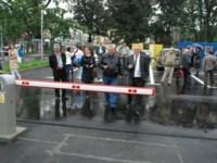 Ioan Cindrea a inaugurat parcarea staţiei de Salvare