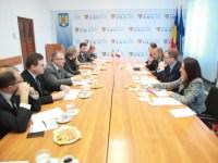 Delegație franceză la Consiliul Județean Sibiu