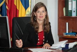 Livia Săplăcan, purtătorul de cuvânt al Direcţiei Naţionale Anticorupţie