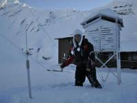 """""""Crăiasa zăpezii"""" din Bâlea Lac"""