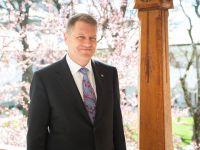 Președintele Iohannis le urează un an bun celor care azi simt emoția primei zile de școală