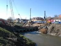 Sosesc în Sibiu elementele metalice mari pentru noul pod peste Cibin