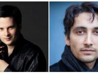 Câștigătorul Concursului George Enescu 2014, violonistul Ștefan Tarara, și unul dintre cei mai talentați pianiști din noua generație, Mauro Lo Conte, la FICH 2015