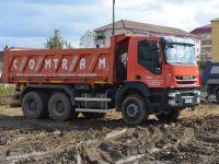 Constructorii reiau lucrările pe șantierele Sibiului