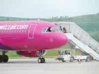 Aeroportul sibian a înregistrat o creștere a traficului de pasageri cu peste 60 la sută