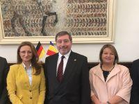 Ambasadorul Germaniei în vizită la CJ Sibiu