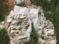 Deșeurile din construcții nu își au locul pe domeniul public