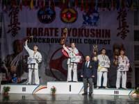 Doi sportivi români, pe podiumul Campionatului Mondial de Karate