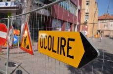 Restricții de circulație în zona Stadionului Municipalpentru realizarea lucrărilor de modernizare