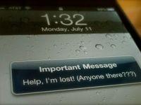 Un iPhone își caută proprietarul