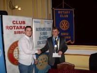Premiați de Rotary