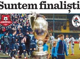 Suntem finaliștii Cupei României!