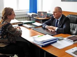 Președintele CJ Sibiu, Daniela Cîmpean, și primarul Gheorghe Huja