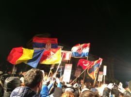 Studenții sibieni dansează la un festival din Sicilia