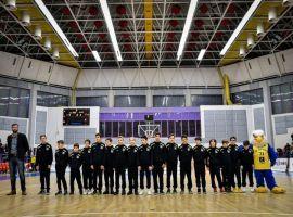 Calificare la turneul final B pentru BC CSU Sibiu U13