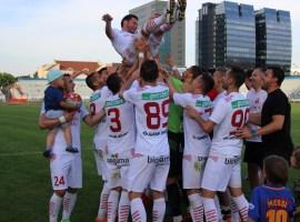 Victorie sibiană în ultimul meci disputat pe teren propriu